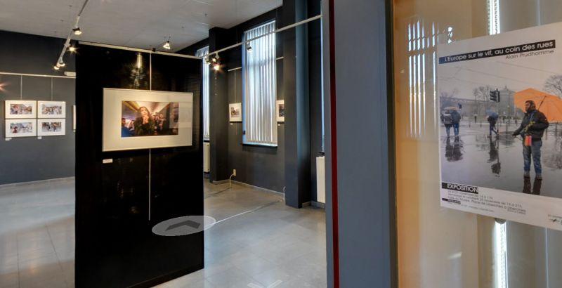 Visite virtuelle Expo Alain Prudhomme à Liberchies