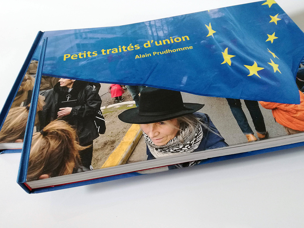 Photobook Petits traités d'union Alain Prudhomme